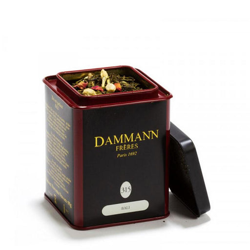 Dammann Freres Bali flavored Green Tea, 3.17 oz (90 g)