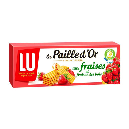 LU Cookies Paille d'Or Strawberry, 5.9 oz (170g)