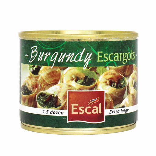Escargots Snails from Burgundy France by Escal, 1.5 Dozen (4.4 oz)