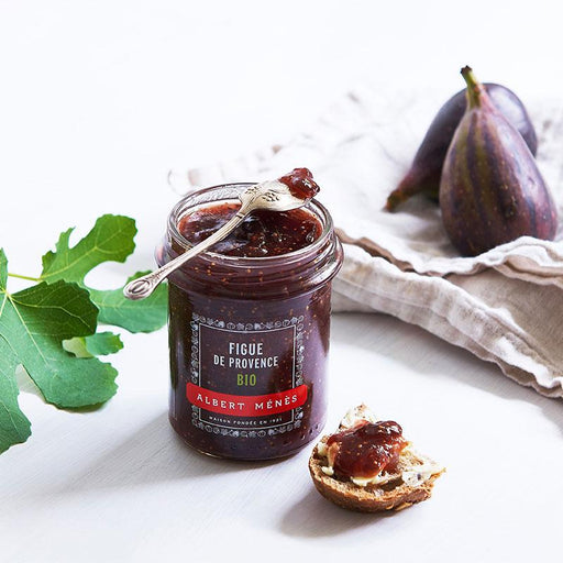 Albert Menes Organic Fig Jam from Provence, 8.1 oz (230 g )