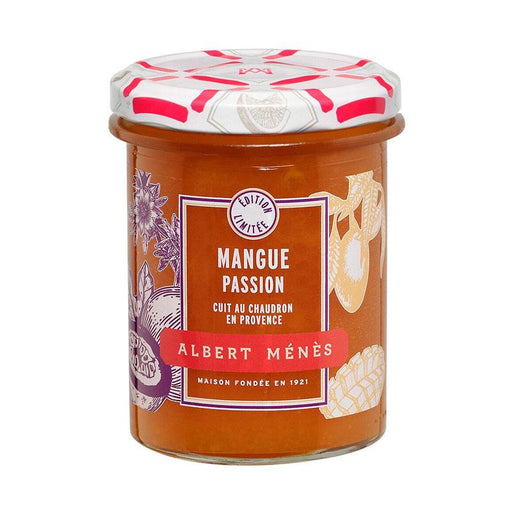 Albert Menes Mango and Passion Fruit Jam, 9.9 oz (280 g )