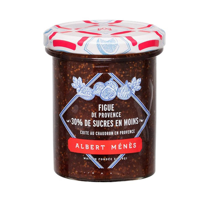 Albert Menes French Fig Jam, Reduced Sugar, 9.3 oz (265 g )
