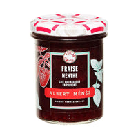 Albert Menes French Strawberry and Mint Jam, 9.9 oz (280 g )