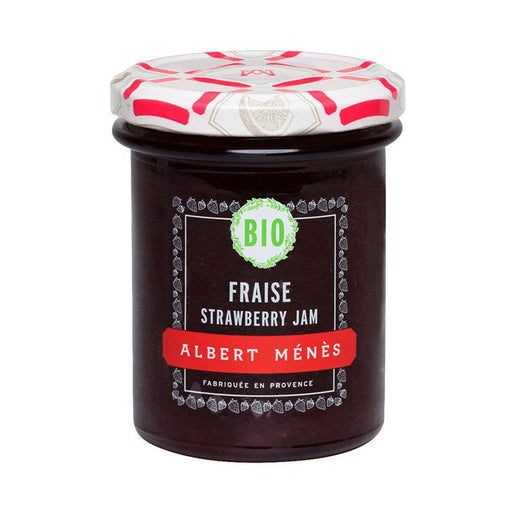Albert Menes French Organic Strawberry Jam, 8.1 oz (230 g )