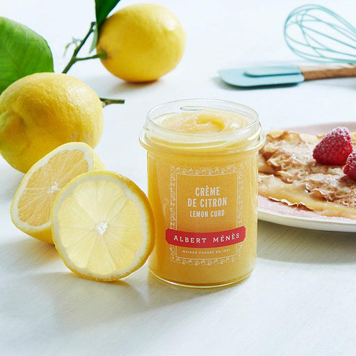 Albert Menes French Lemon Curd, 9.3 oz (265 g )