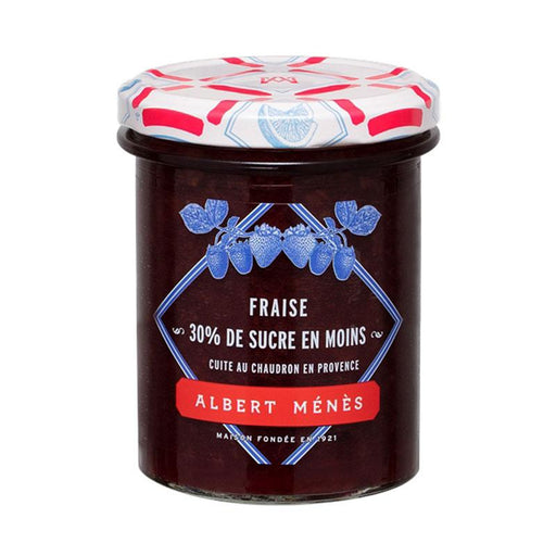 Albert Menes Reduced Sugar Strawberry Jam, 9.3 oz (265 g )
