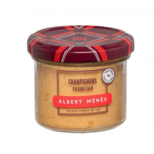 Albert Menes Wild Mushroom with Parmesan Spread, 3.5 oz (100 g )