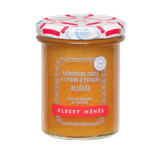 Albert Menes Reuced Sugar Clementine and Lemon Jam, 9.3 oz (265 g )