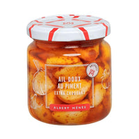 Albert Menes French Sweet Crunchy Garlics with Chili, 7.1 oz (200 g )