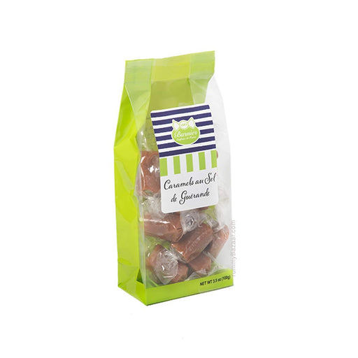 Barnier Salted Butter Caramel Candies in Bag, 3.5 oz (100 g)