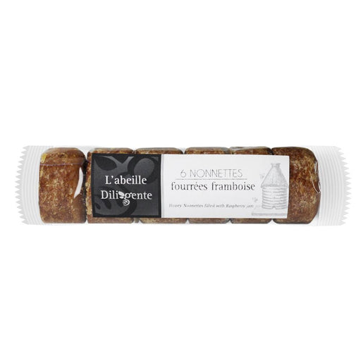 L'Abeille Diligente Nonnettes with Raspberry Filling, 7 oz (200 g)