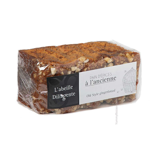 L'Abeille Diligente Old Fashioned Gingerbread with Pearl Sugar, 1.1 lb (500 g)