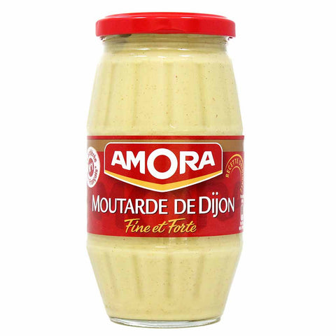 Large Jar Dijon Mustard by Amora 15.5 oz