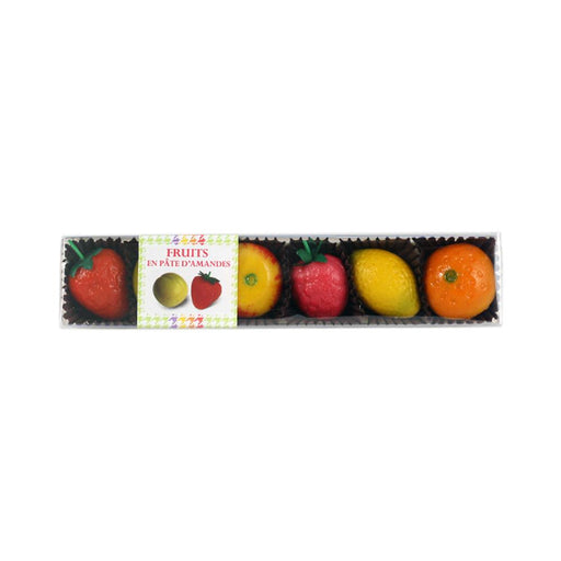 Maffren Marzipan Fruits in Gift Box, 2.8 oz (80 g)