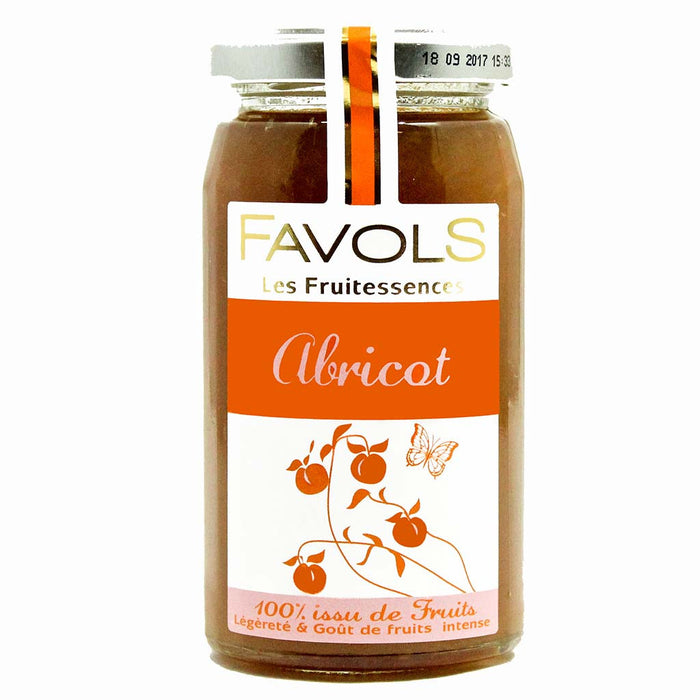 Favols - Apricot Fruitessence Jam (No Sugar Added), 8.8 oz