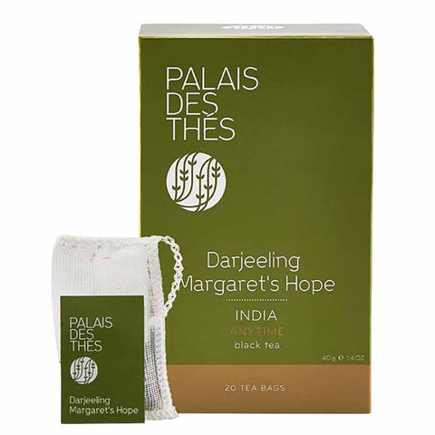 Darjeeling Margaret's Hope Black Tea by Palais des Thes 20 Tea Bags