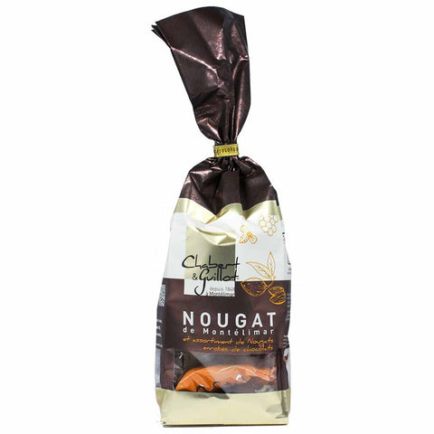 White Nougat and Chocolate-covered Nougat by Chabert Guillot 7.05 oz