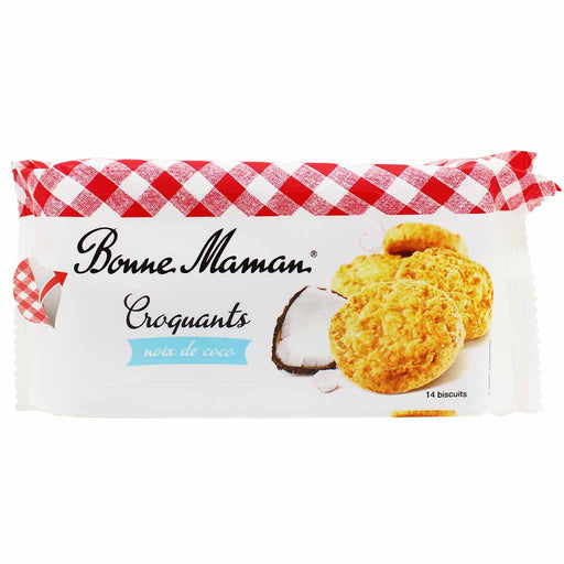 Bonne Maman Coconut Biscuit Cookies Croquants 5.3 oz