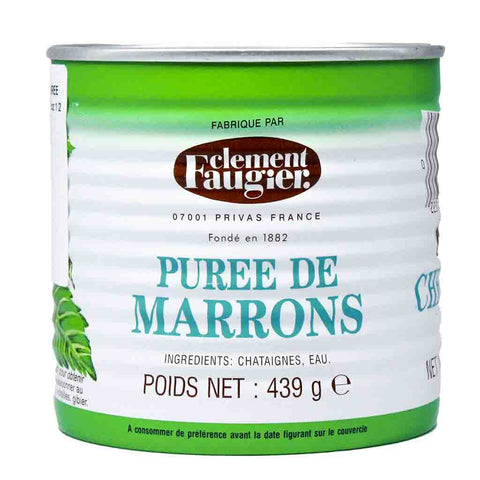 Clement Faugier Unsweetened French Chestnut Marrons Puree 15.5 oz