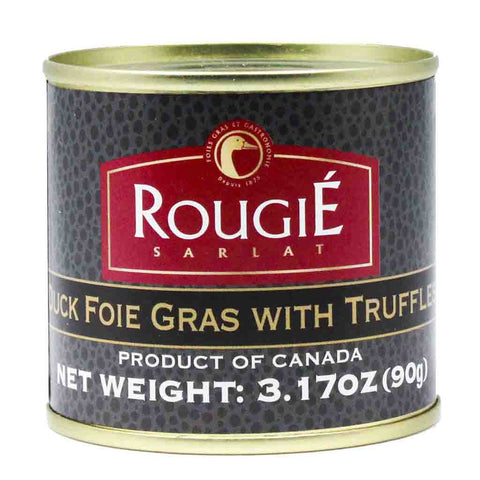 Duck Foie Gras with Truffles by Rougie 3.17 oz