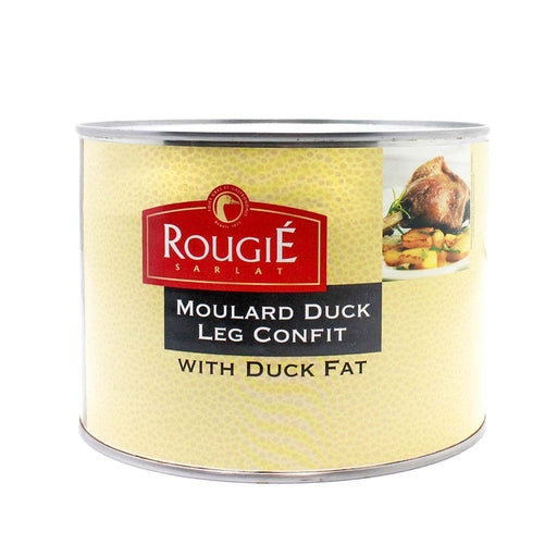 Rougie Moulard Duck Leg Confit, 52.9 oz (1500 g)