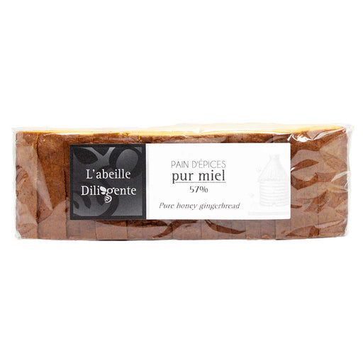 Pure Honey Gingerbread by L'Abeille Diligente, 10.6 oz.