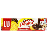 Pepito Dark Chocolate Cookies by LU, 7 oz