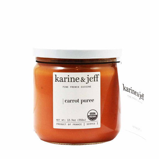 Karine & Jeff Organic French Carrot Puree 12.3 oz