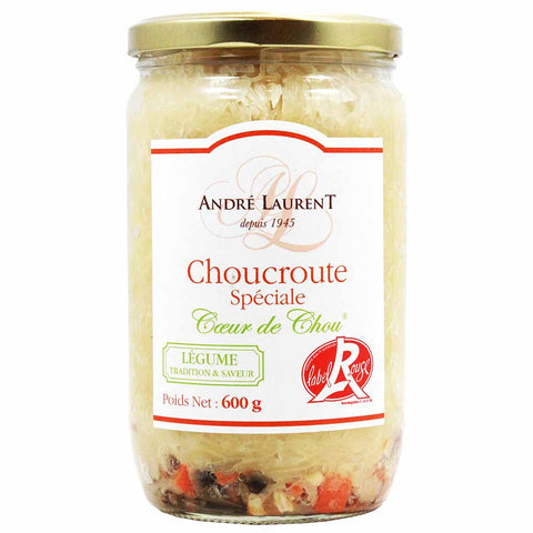 French Gourmet Sauerkraut Choucroute by Andre Laurent 21 oz