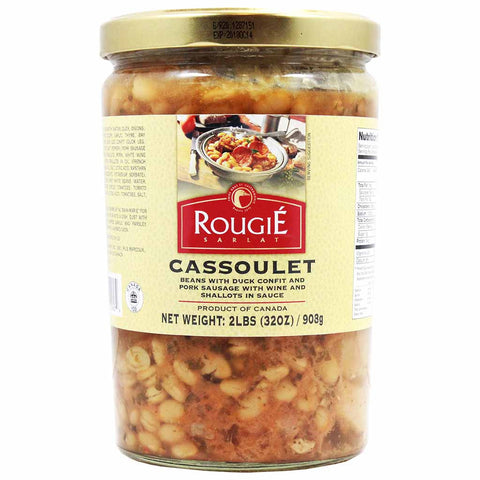 French Style Cassoulet with Duck Confit by Rougie 30 oz