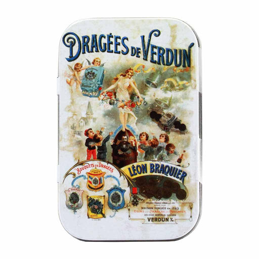 Premium Assorted French Jordan Almonds Dragees by Braquier 2.3 oz
