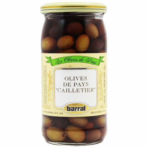 French Cailletier Olives by Barral 7.5 oz