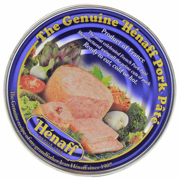 Henaff Pork Pate 5.4 oz