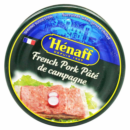 Henaff French Pork Pate De Campagne 4.5 oz