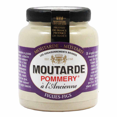 French Mustard with Fig by Pommery 3.5 oz