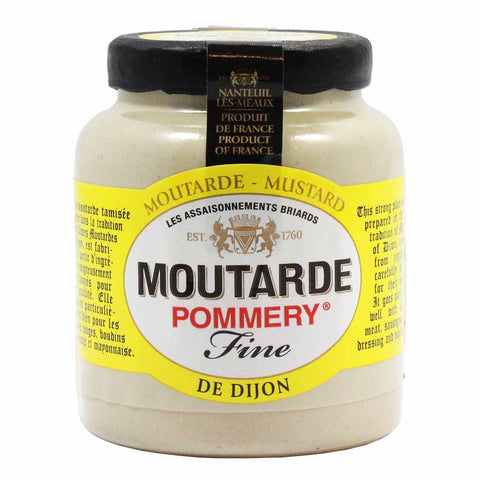French Dijon Mustard by Pommery 3.5 oz