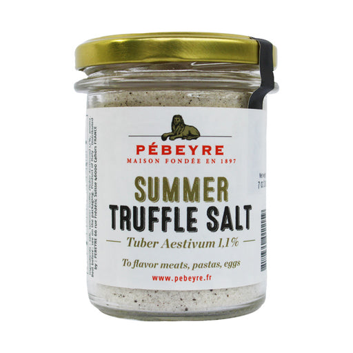 Pebeyre Summer Truffle Salt, 7 oz