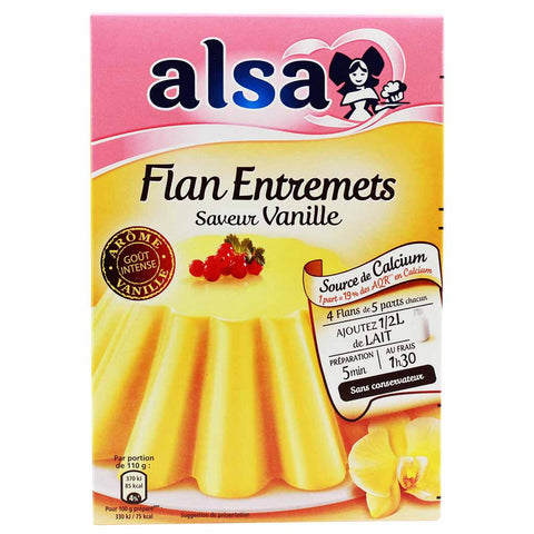 French Vanilla Flan Mix by Alsa 6.8 oz