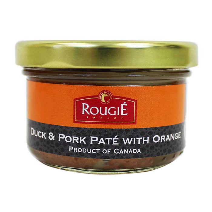 Rougie Duck and Pork Pate with Orange 2.8 oz