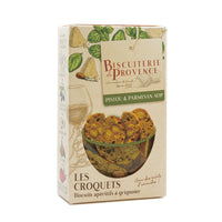 Biscuiterie de Provence Savory Pesto Crackers, 3.17 oz (90 g)