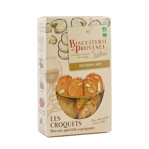 Biscuiterie de Provence Goat Cheese Crackers, 3.17 oz (90 g)