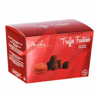 Mathez Chocolate Truffle with Raspberry Macaron Chips, 8.8 oz