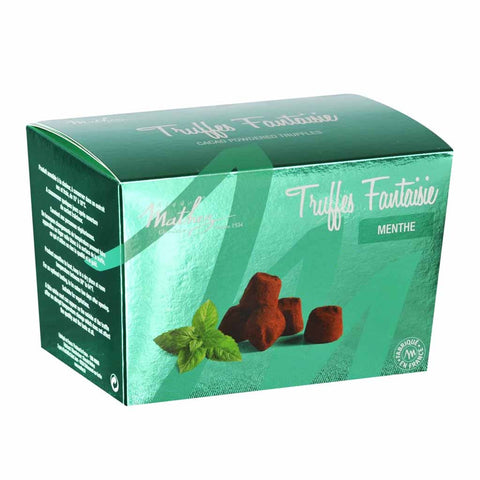 Chocolate Truffle with Mint Crystals by Mathez 8.8 oz