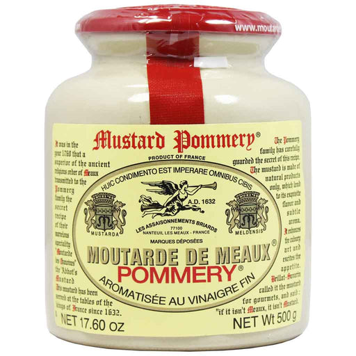 17.6 oz (500g) Pommery Mustard from Meaux