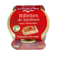 Mouettes d'Arvor Sardines Rillettes with French Tomatoes 4.4 oz