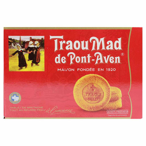 French Butter Cookies Breton Palets by Traou Mad 10.5 oz