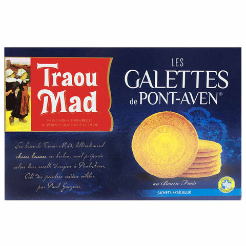 French Galettes Cookies by Traou Mad 10.5 oz