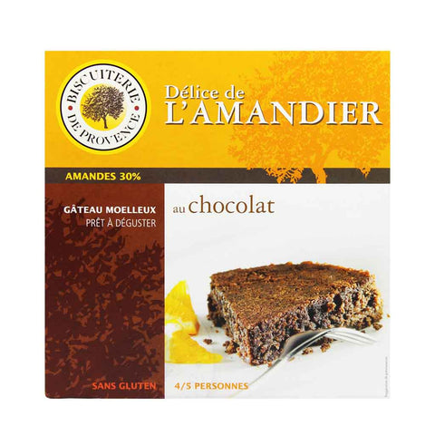Gluten Free Almond Chocolate Cake by Biscuiterie de Provence 7.9 oz
