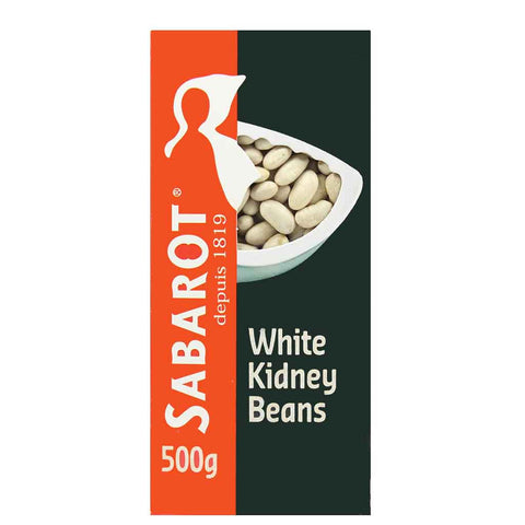 White Kidney Lingot Beans by Sabarot 17.6 oz