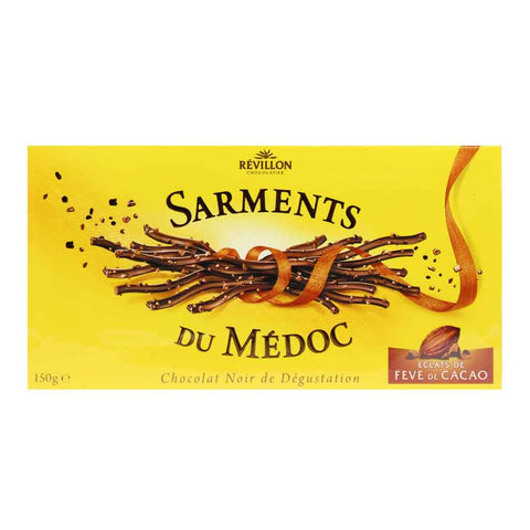 Dark Chocolate Sarments by Revillon 5.2 oz